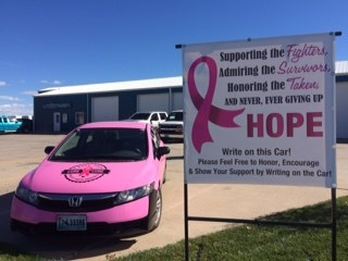 Encouraging Pink